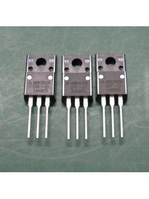 3 X diode Schottky MBR20100CT 20A (10a par diode) 100v TO-220