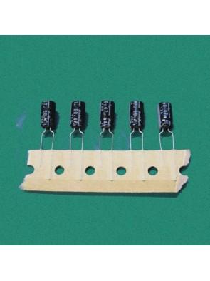 5 X Condensateurs 50V 47 uf