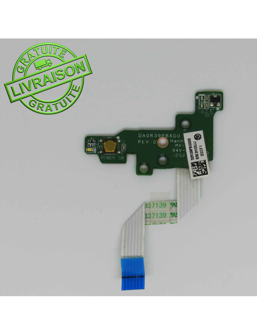 Boutons d'alimentation HP Pavilion G7 DAOR39PB6D0