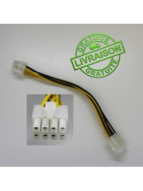 Rallonge alimentation CPU 8 pin ATX