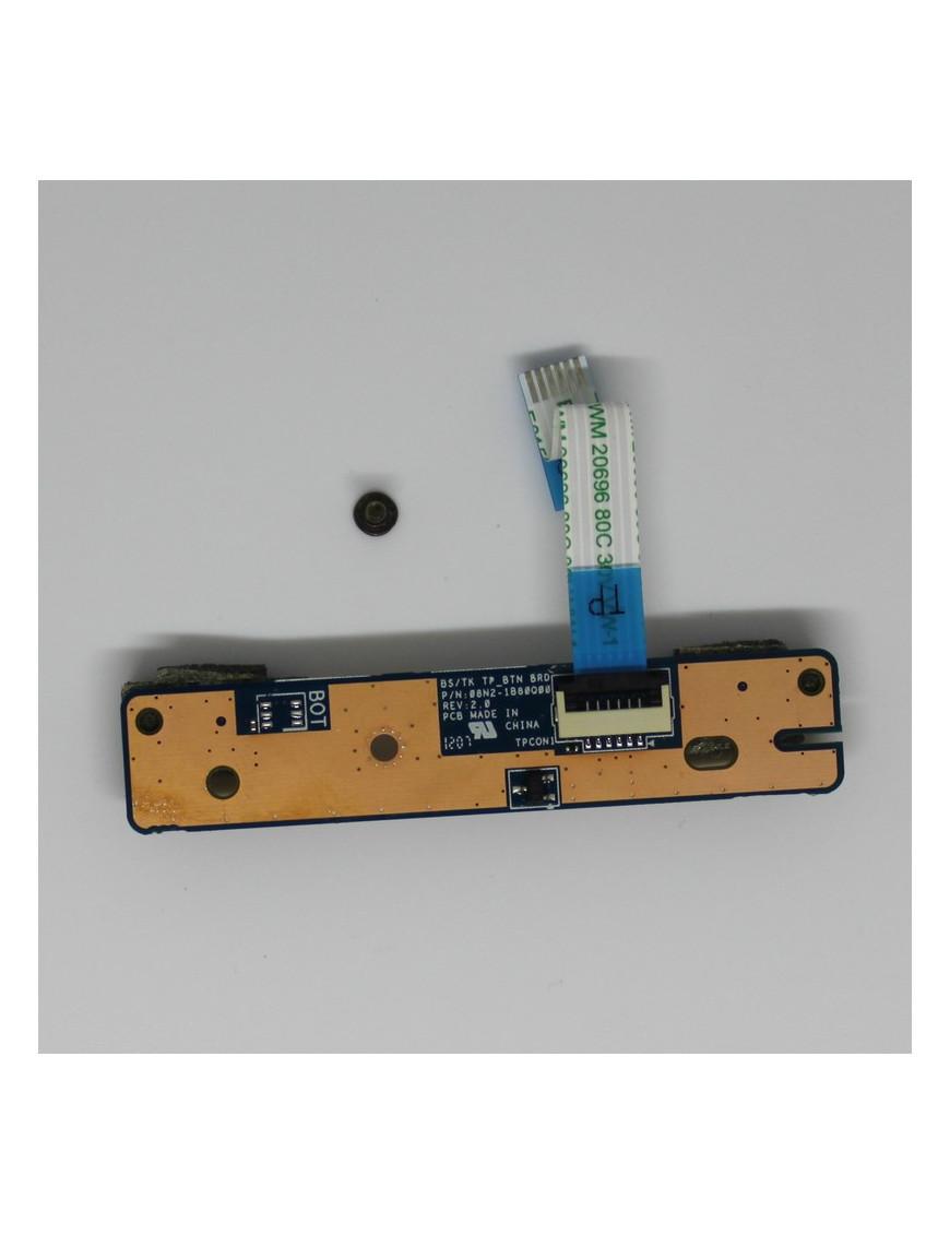 Bouton Touch Pad + Nappe Pour Toshiba C670