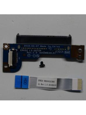 Connecteur SATA Disque Dur Pour HP LAPTOP 15-DA0008NF - EPK52 LS-G072P