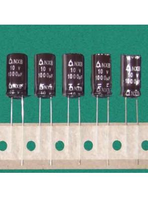 5 X Condensateur 10V 1000uf