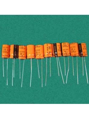 10 X Condensateur 25V 330uf