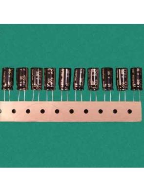 10 X Condensateur 35V 470uf
