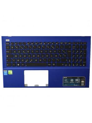 Plasturgie clavier arrière Asus X550