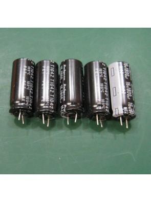 5 X Condensateur 16V 1800uf