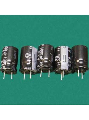 5 X Condensateur 6.3V 1000uf
