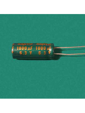 Condensateur 6.3V 1800uf