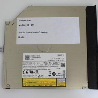 Lecteur Graveur CD - DVD Pour Acer Aspire E5-511 - UJ8E2Q